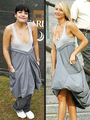 cameron diaz dresses. Lilly vs Cameron
