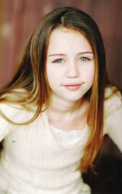 Very Young Miley Cyrus
