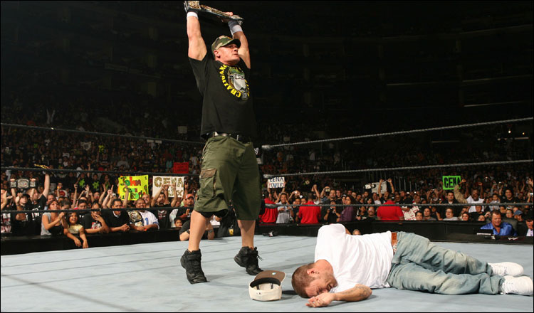 Cena Beat Up  Kevin Fed.. Sport - Athletic sports -