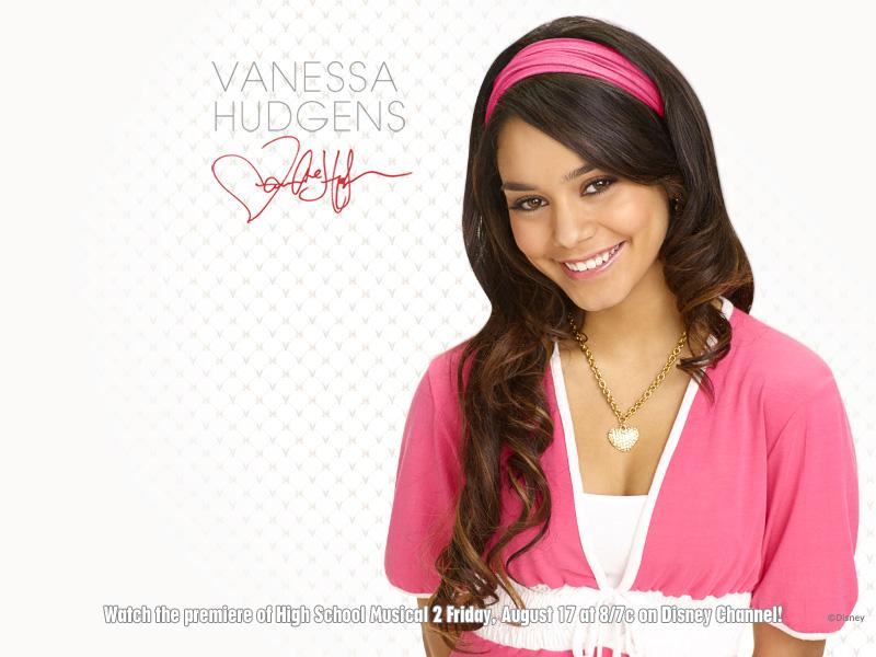 Vanessa Hudgens Yearbook Picture