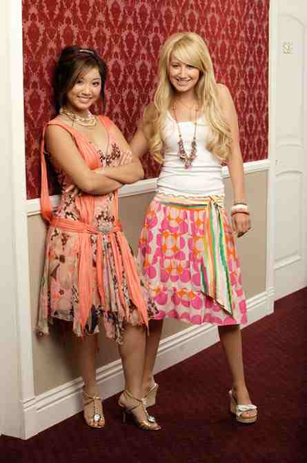 Brenda Song And Ashley Tisdale Ashley and Brenda