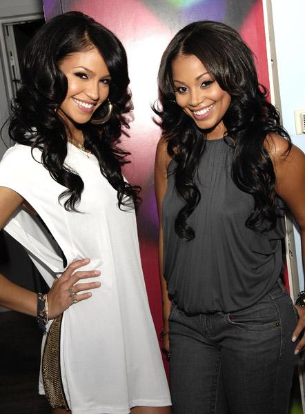 Lauren London and Cassie